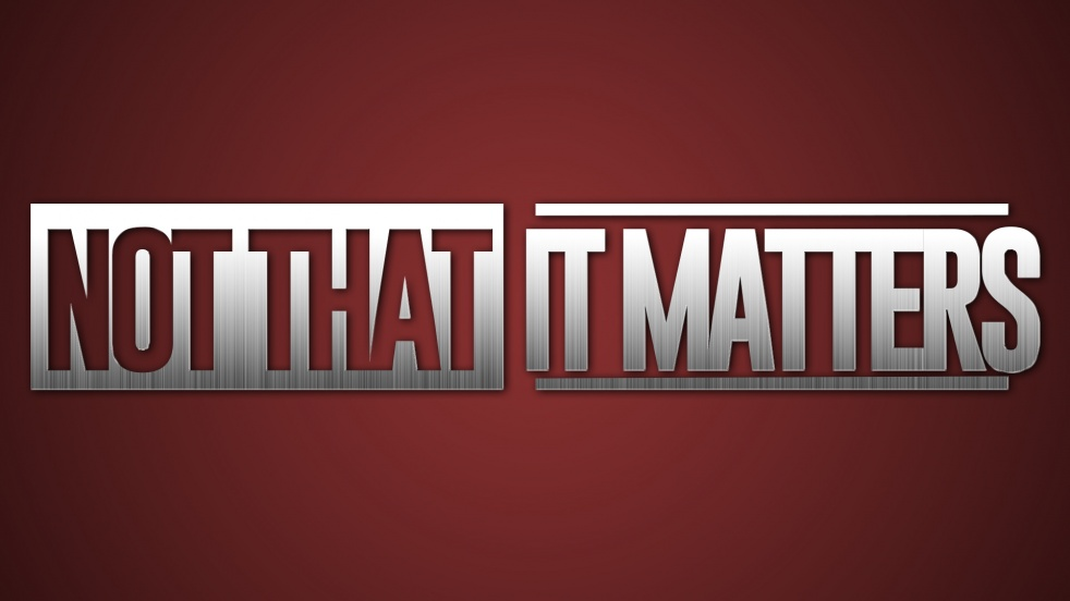 Not That It Matters - imagen de show de portada