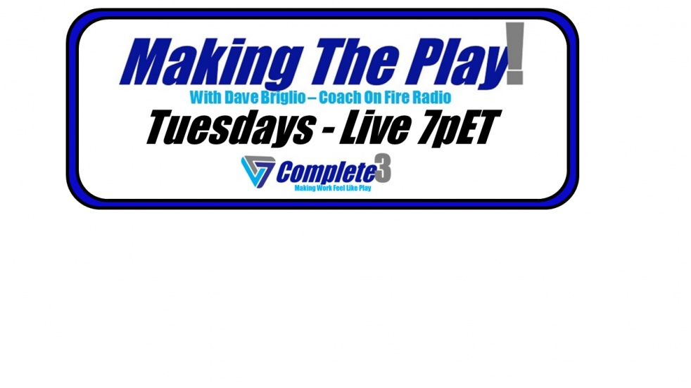 Making The Play with Dave Briglio - show cover