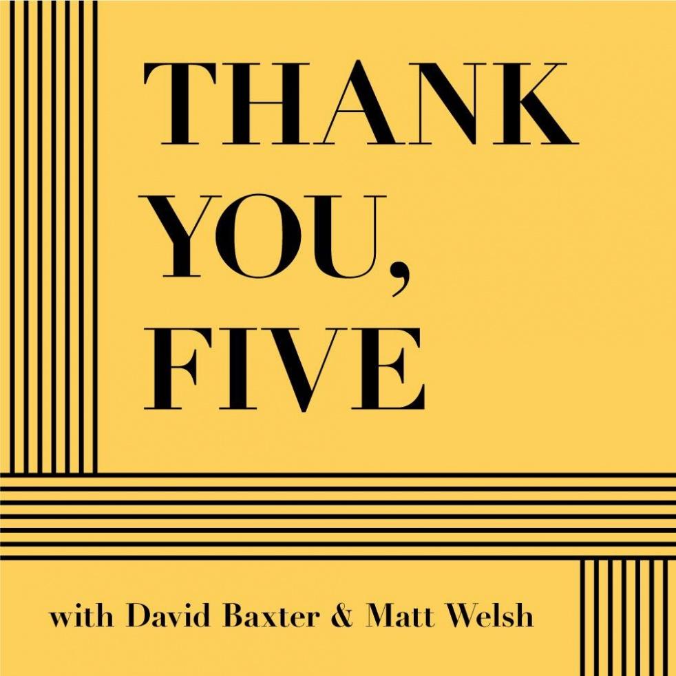 Thank You, Five - imagen de show de portada