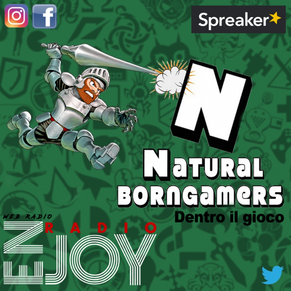 Natural born gamer - show cover