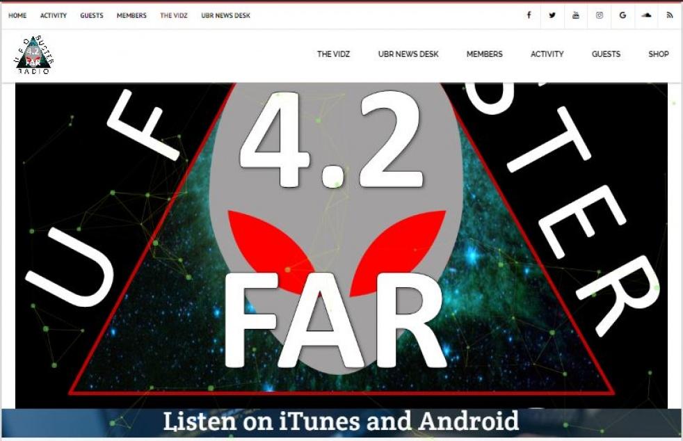 UFO Buster Radio - immagine di copertina dello show