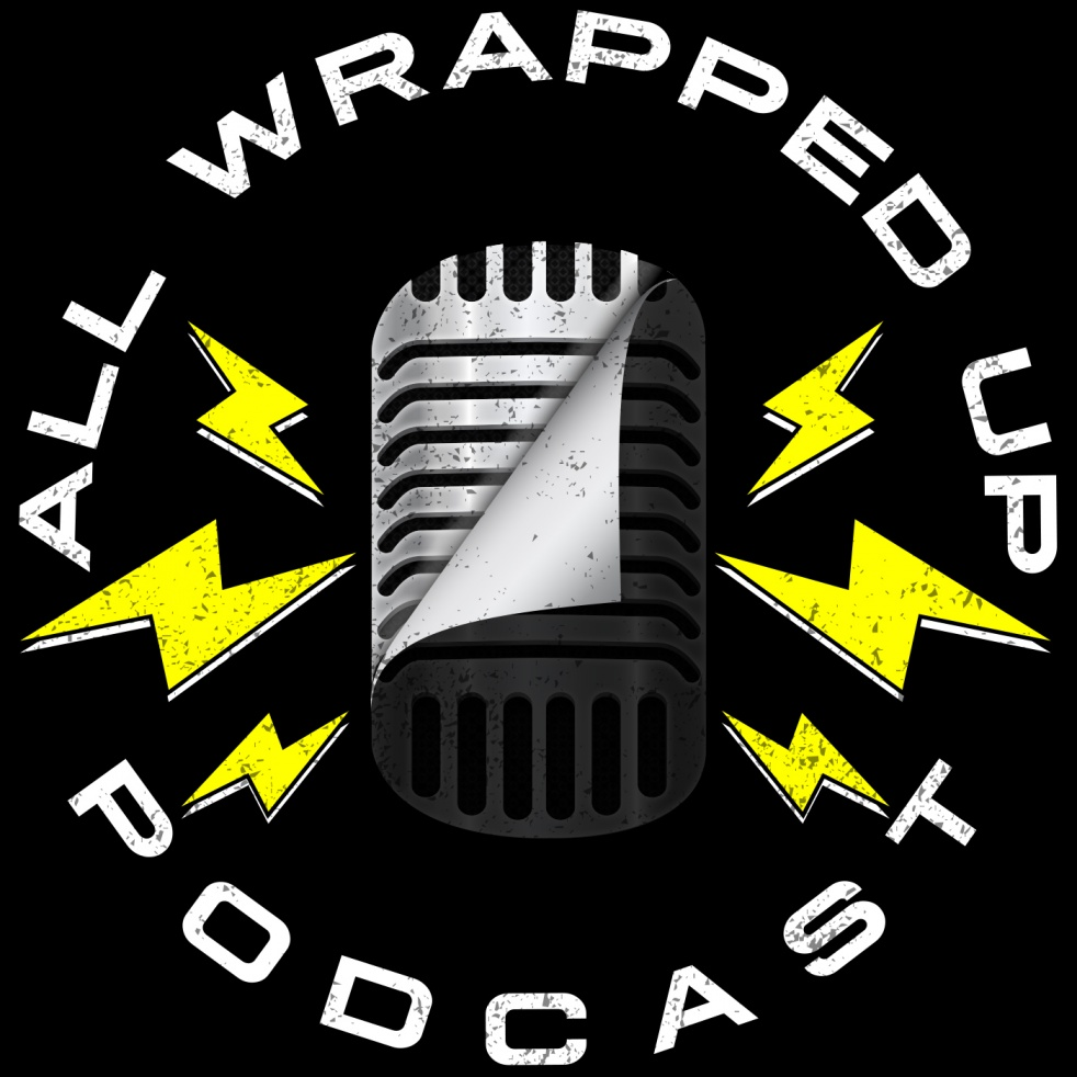 All Wrapped Up Podcast - show cover