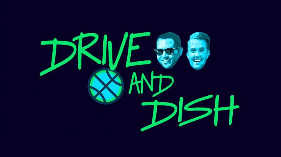 Drive and Dish NBA Podcast - imagen de show de portada