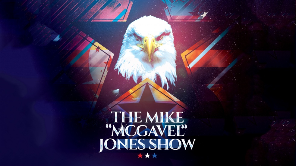 "The Mike ""McGavel"" Jones Show - show cover"