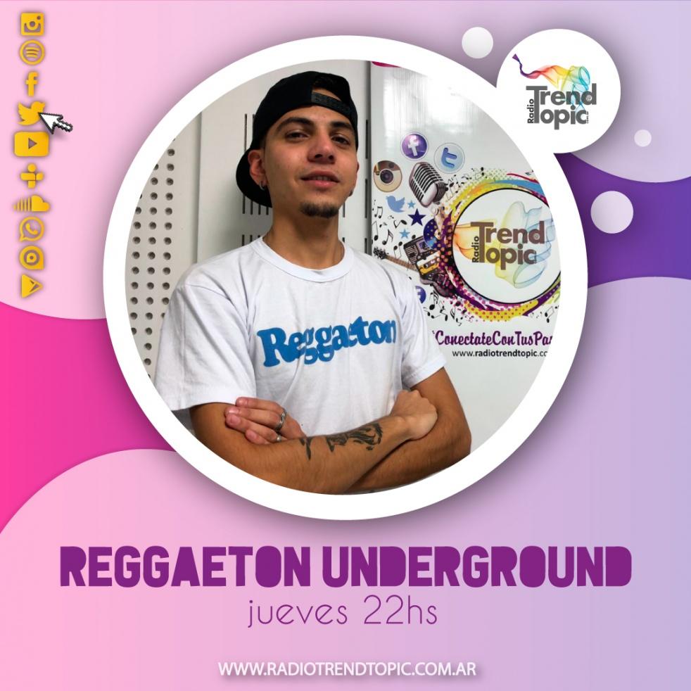 Reggaeton Underground - imagen de show de portada