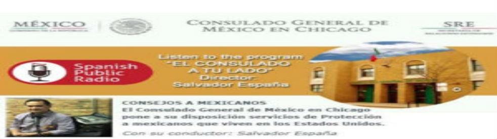 El CONSULADO A TU LADO - immagine di copertina dello show