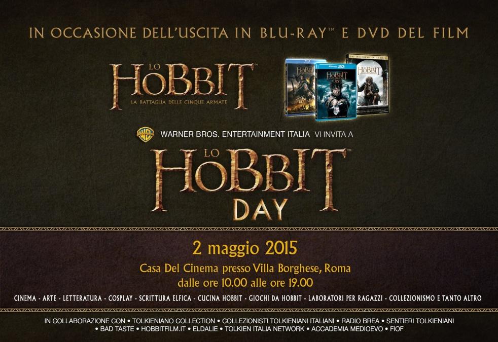 HOBBIT DAY - 2 MAGGIO 2015, ROMA - immagine di copertina dello show