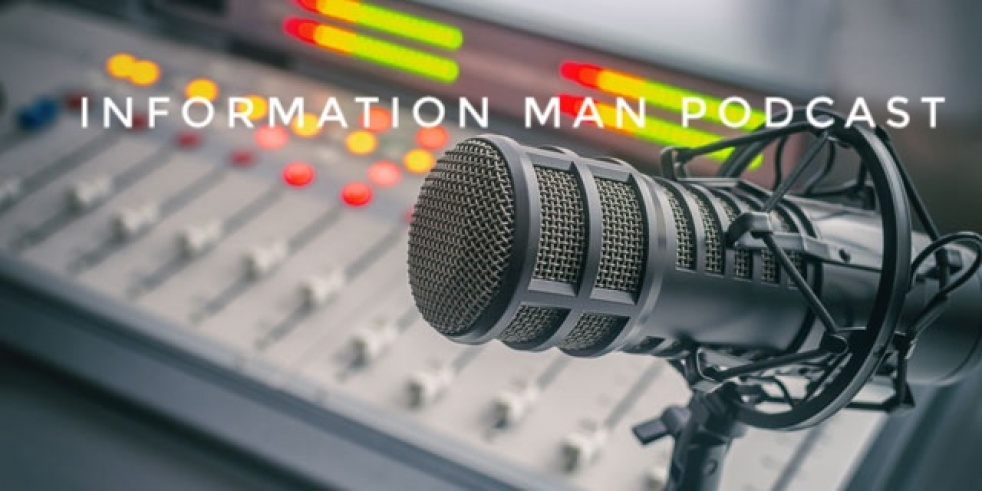 Information Man Speaks PODCAST - Cover Image