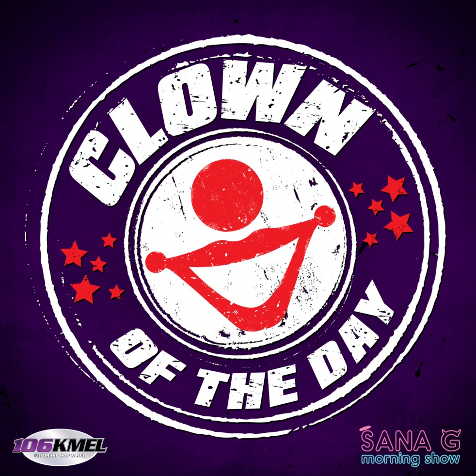 Sana G's Clown of the Day - Cover Image