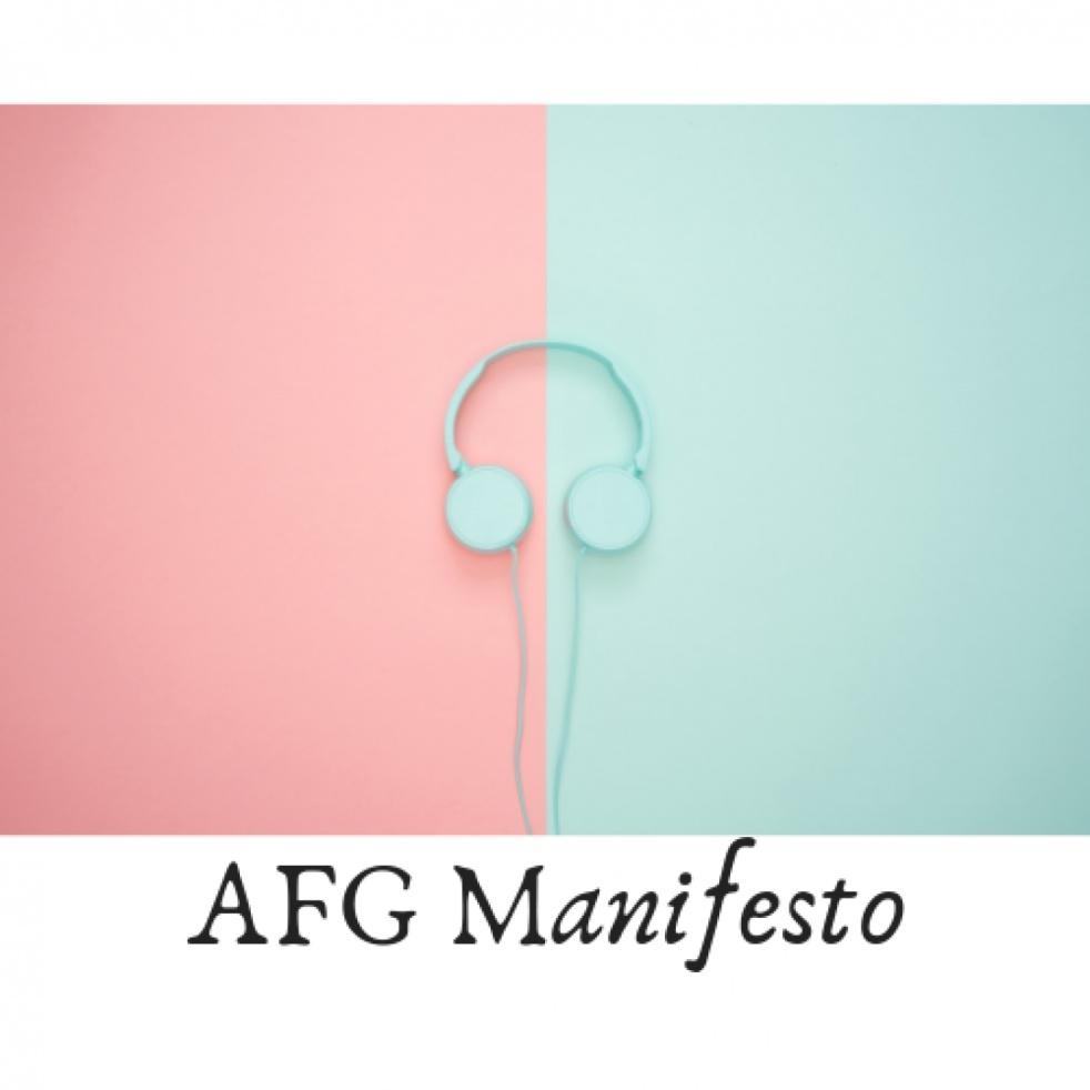 AFG Manifesto - imagen de show de portada