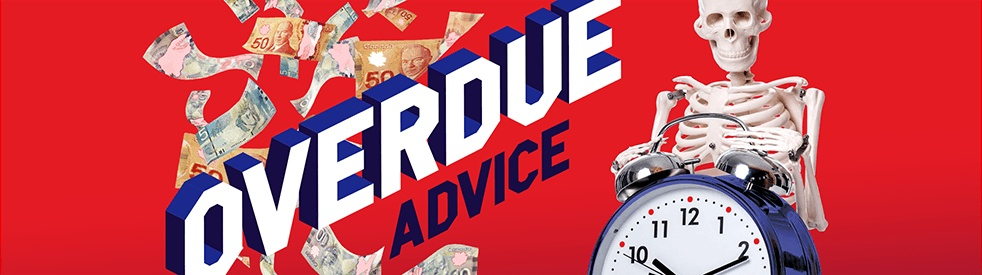 Overdue Advice - show cover