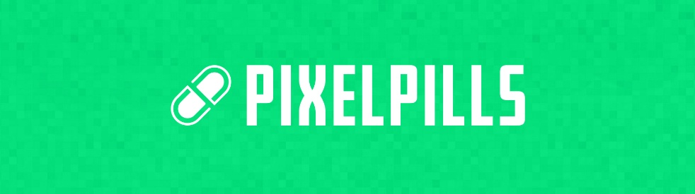 PixelPills Podcast - show cover