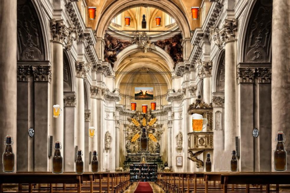 The Church Of Beers - imagen de show de portada