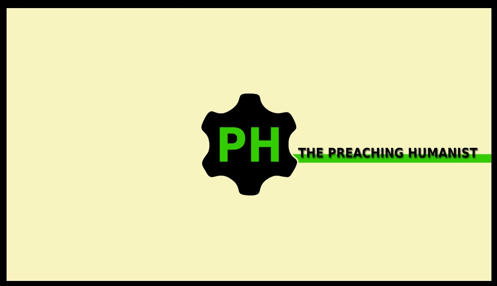 The Preaching Humanist - Cover Image
