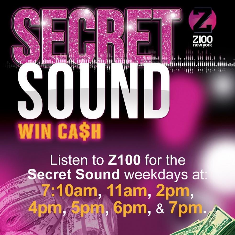 Z100 Secret Sound - imagen de show de portada