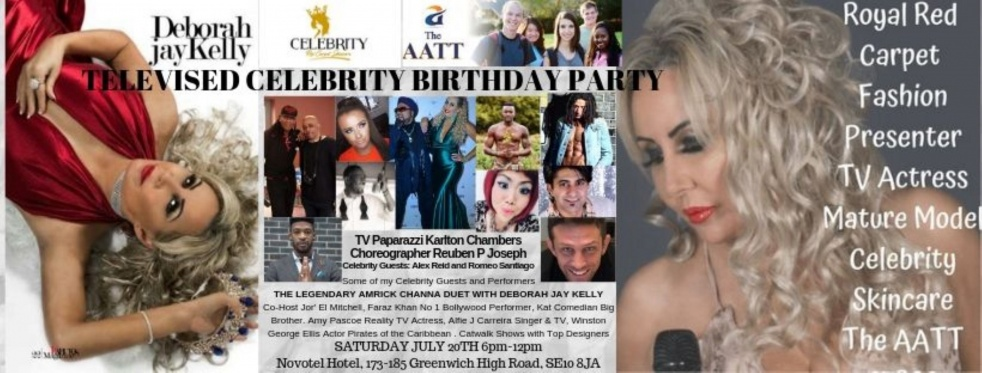 Celebrity Fashion Show, Charity & Pageant Live Interviews - Cover Image
