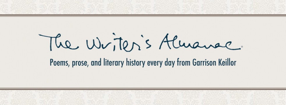 The Writer's Almanac - Cover Image
