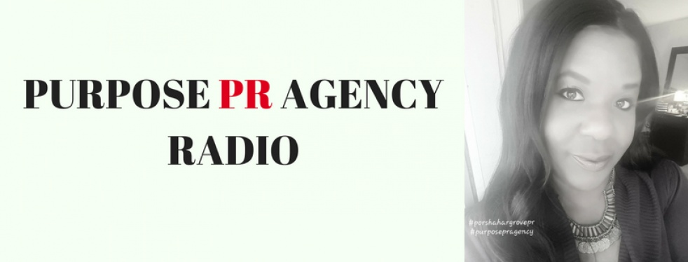 Purpose PR Agency Radio - show cover