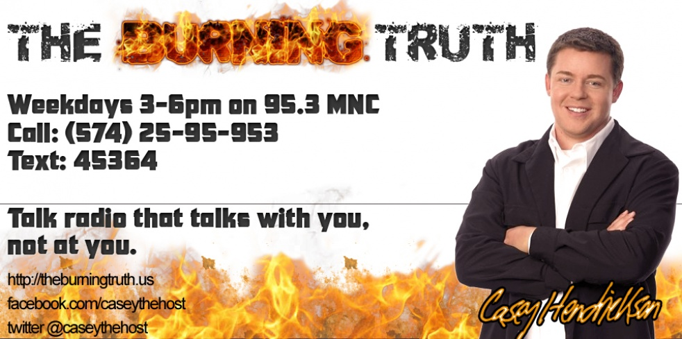 The Burning Truth - show cover
