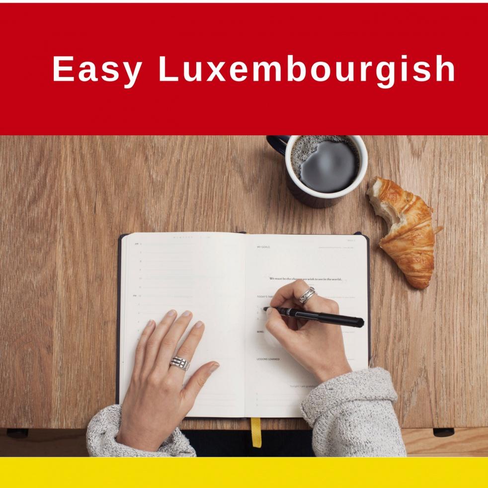 Easy Luxembourgish - imagen de show de portada