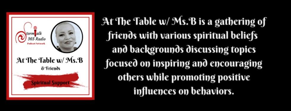 At The Table w/ Ms.B - immagine di copertina
