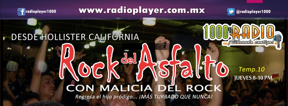 Rock del Asfalto - show cover