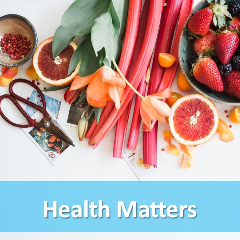 Health Matters - imagen de show de portada