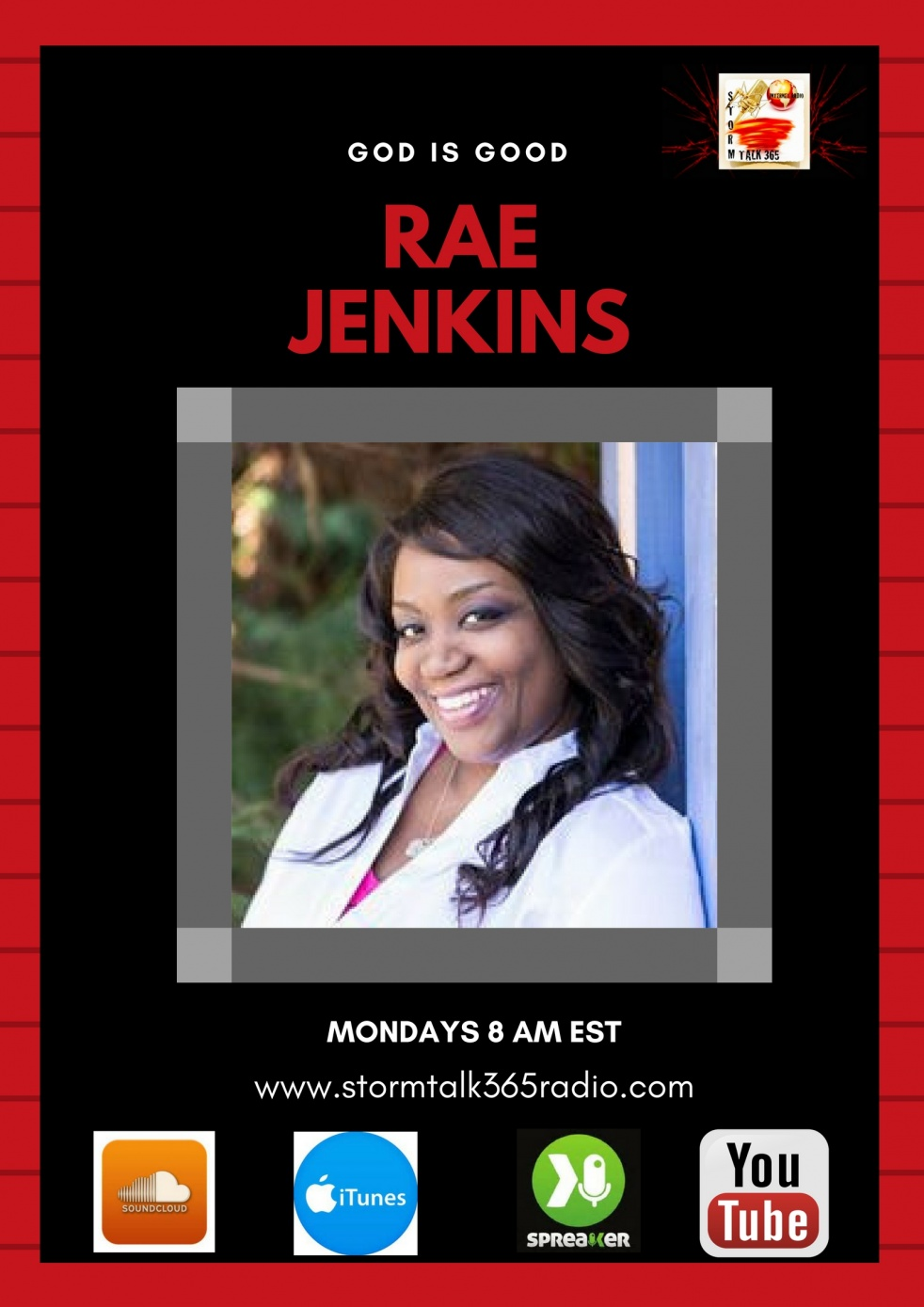 God Is Good w/Rae Jenkins - show cover