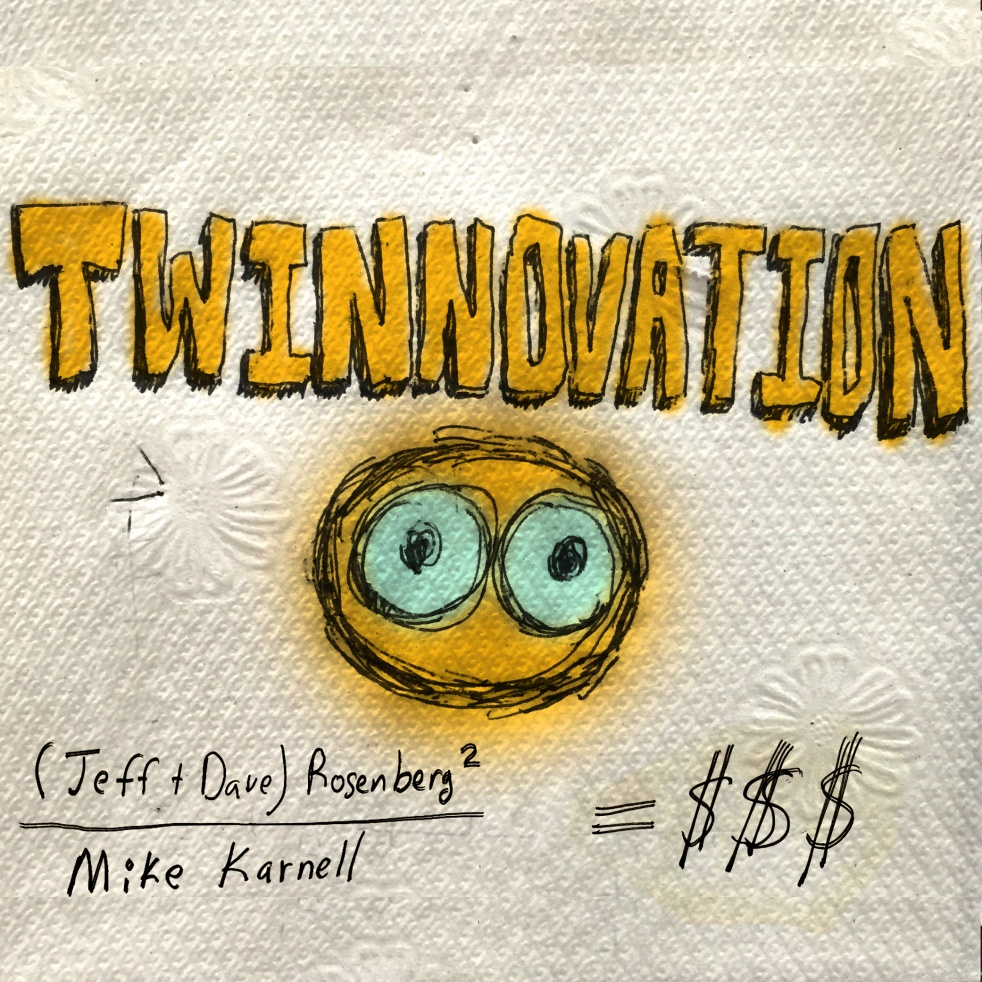 Twinnovation - show cover
