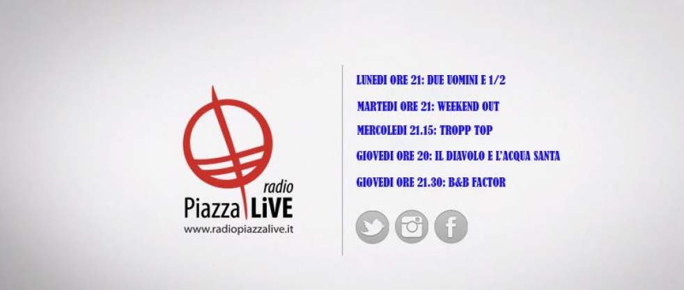 Radio Piazza Live - show cover