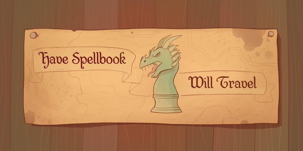 Have Spellbook, Will Travel - show cover