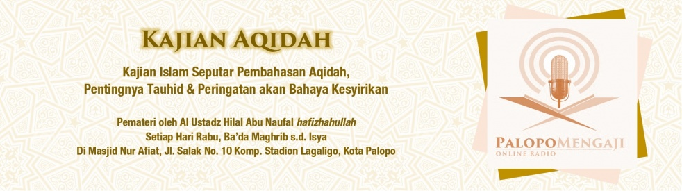 Kajian Aqidah - Masa'ilul Jahiliyah - Cover Image