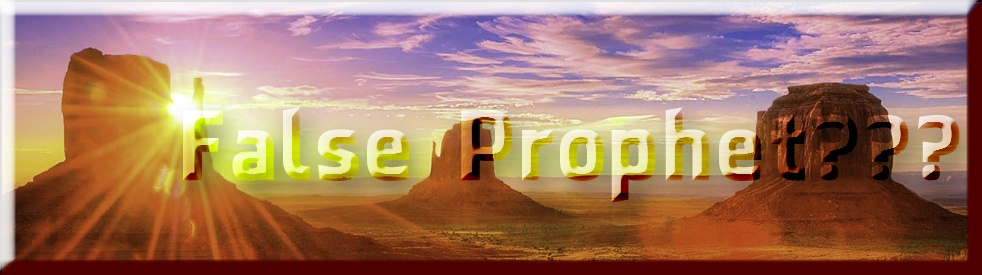 False Prophet??? with Dr. Mark - show cover