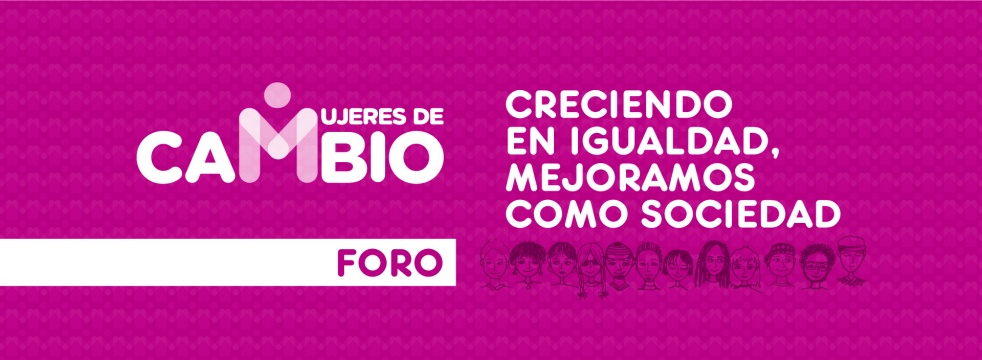 I Foro Mujeres de cambio - show cover