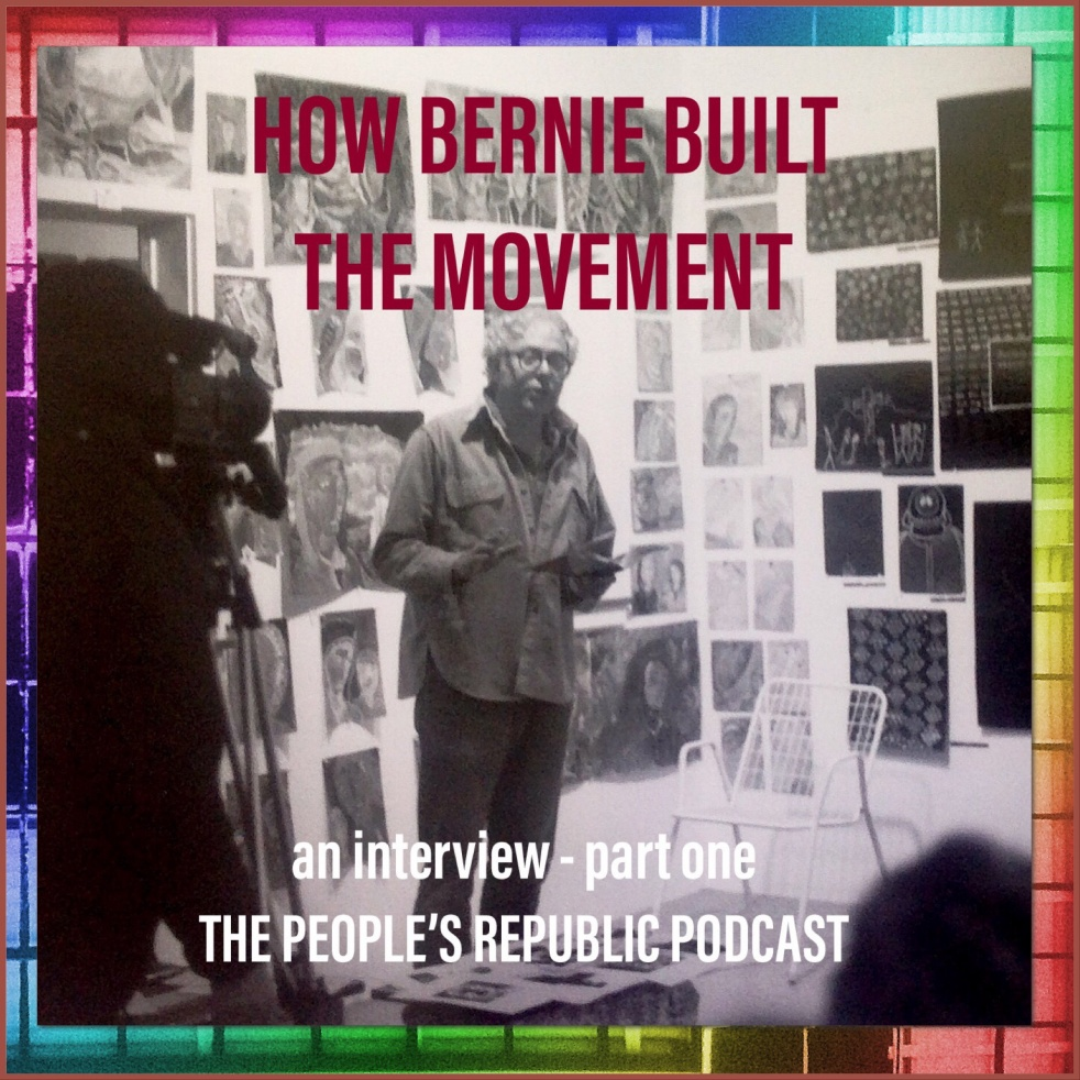 How Bernie Built the Movement - show cover