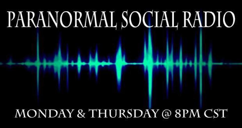 Paranormal Social Radio - show cover