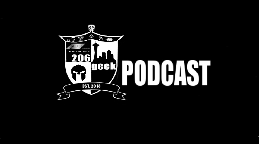 206geek Podcast - show cover