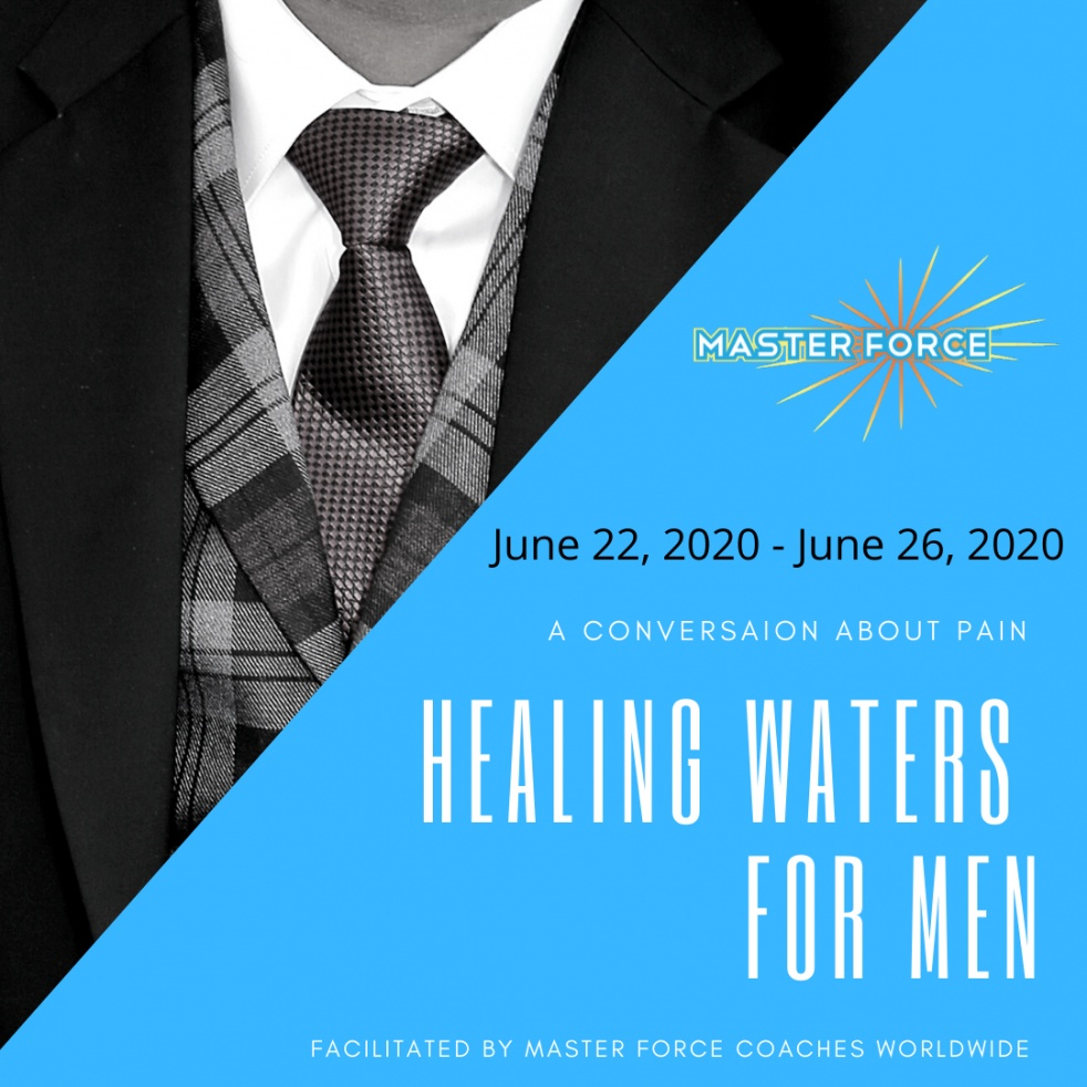Healing Waters for Men - Cover Image