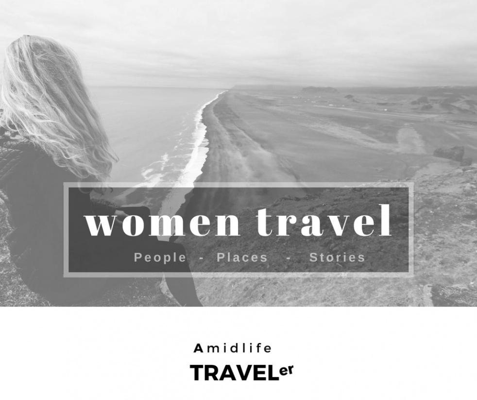 Women Travel:  Amidlife Traveler - imagen de show de portada