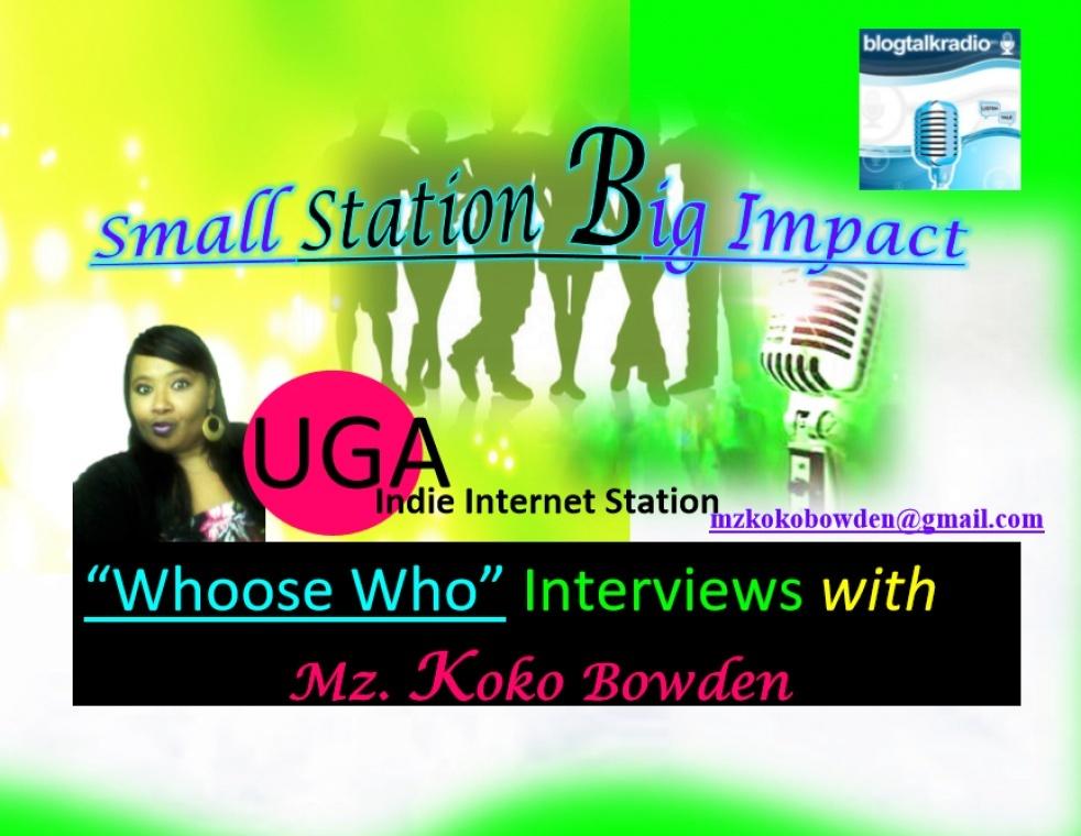 """""""Whoose Who"""" Blog Talk Radio Interviews - immagine di copertina"""