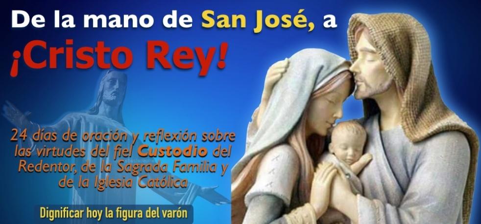 De la mano de San José, a Cristo Rey - Cover Image