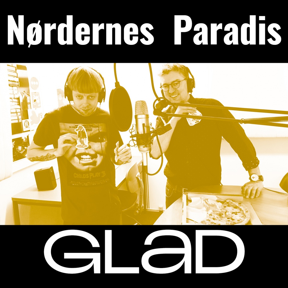 RADIO GLAD - Nørdernes Paradis - show cover