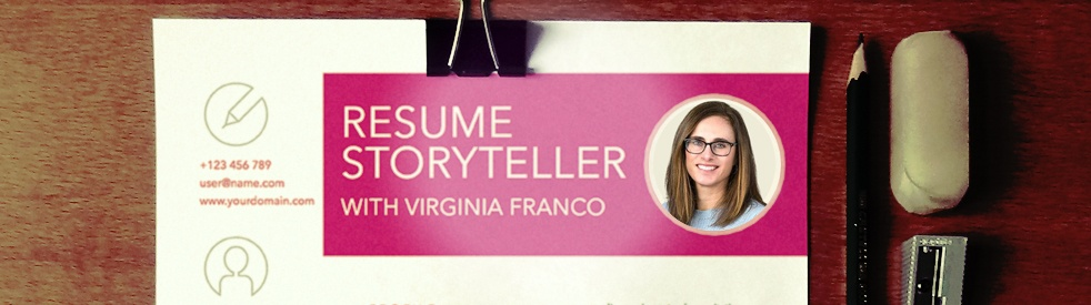 Resume Storyteller with Virginia Franco - show cover