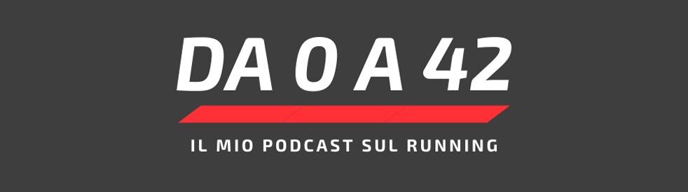 Da 0 a 42 - Il mio podcast sul running - Cover Image
