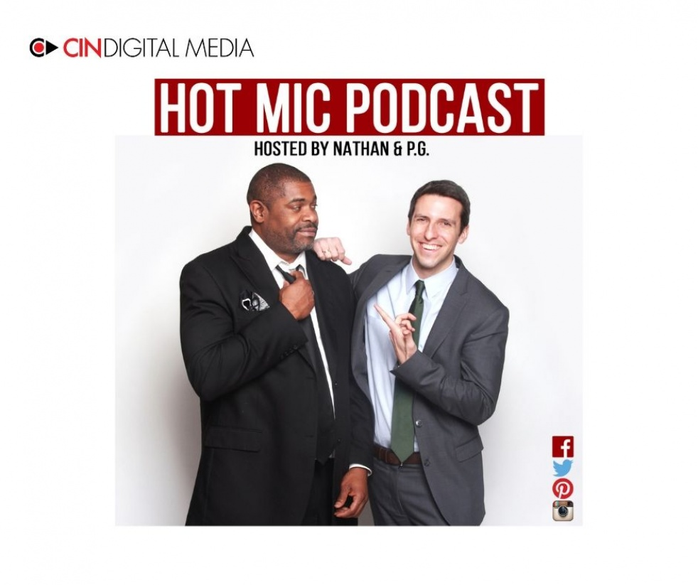 Hot Mic Podcast - show cover