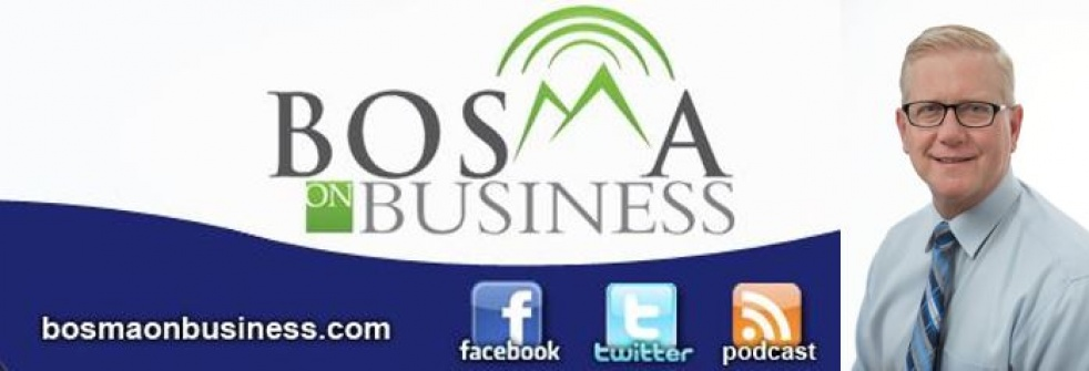 Bosma on Business - show cover