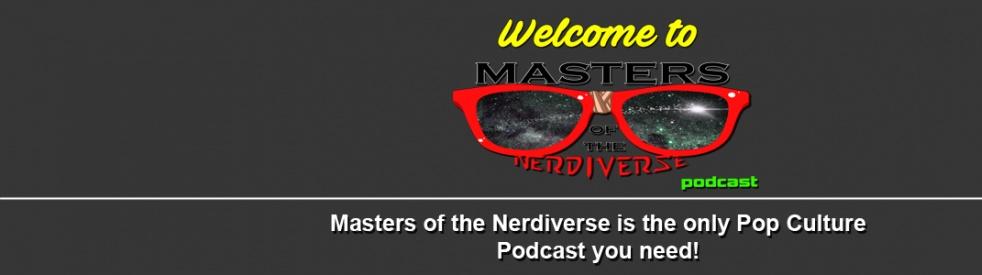 Masters of the Nerdiverse Podcast - immagine di copertina dello show