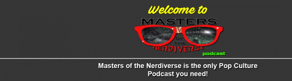 Masters of the Nerdiverse Podcast - imagen de show de portada