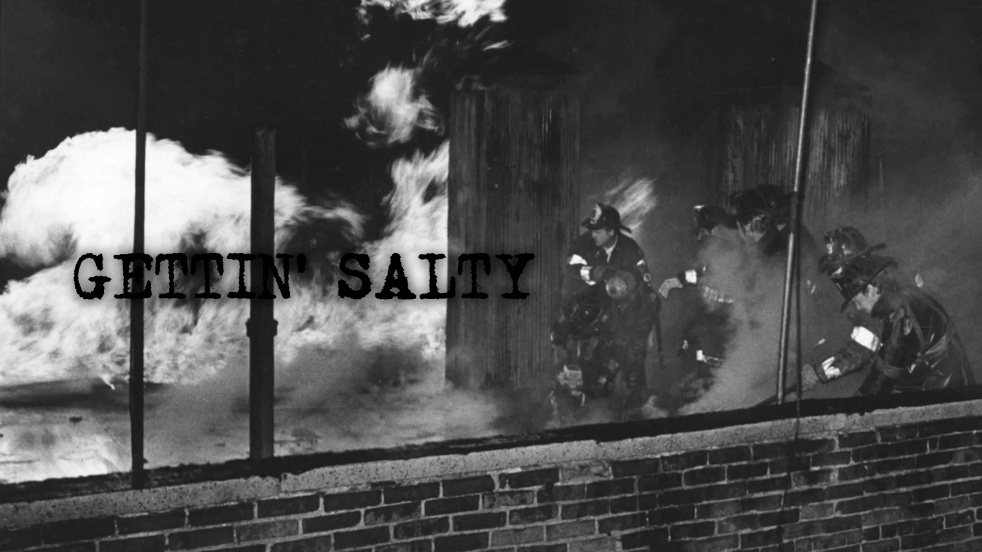 Gettin' Salty Experience Firefighter Podcast - imagen de portada