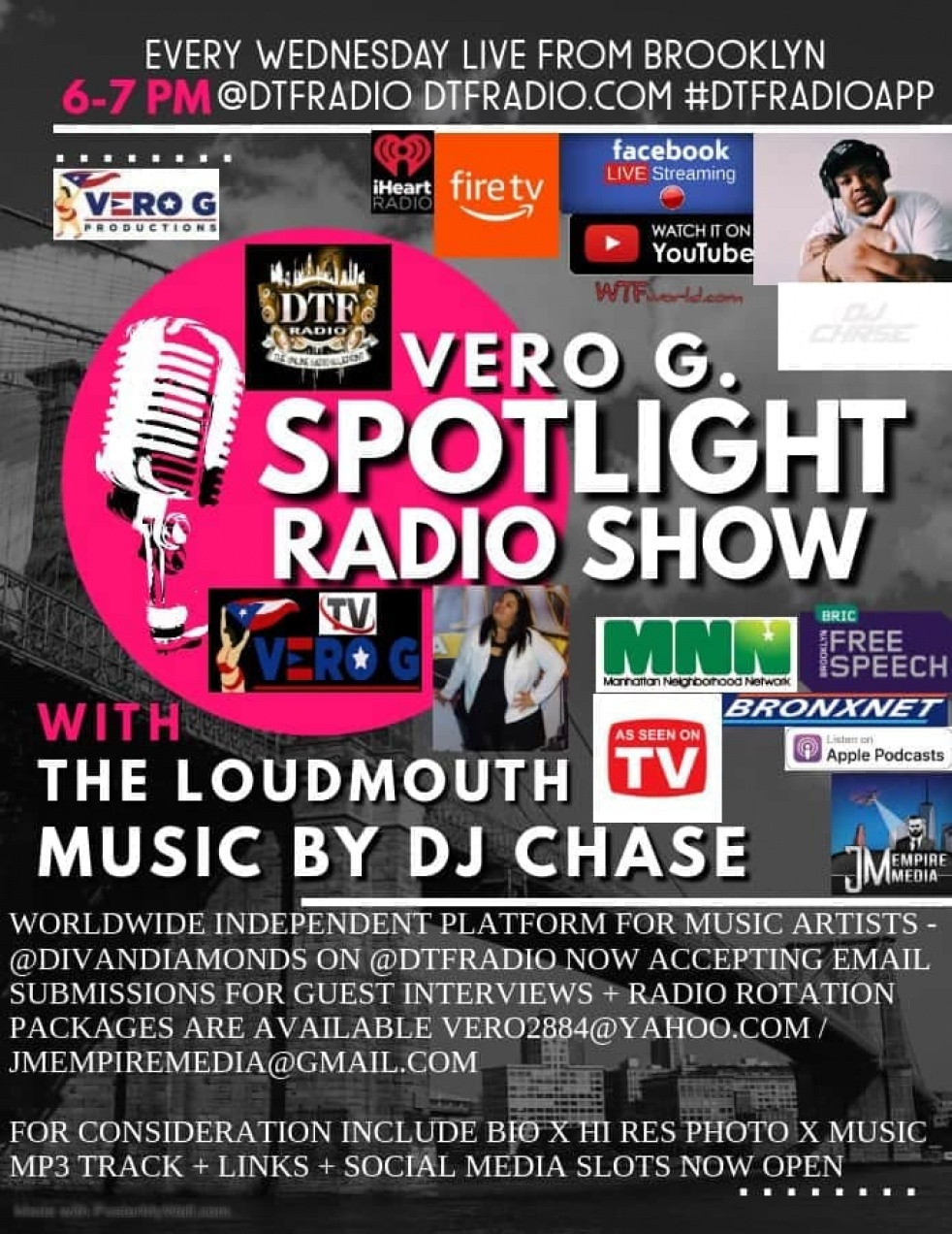 Vero G. Spotlight Radio Show - Cover Image